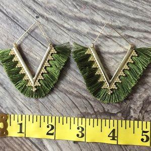 NWOT Anthropologie tassels earrings